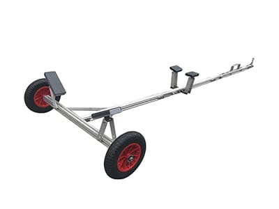 4'-11' Adjustable Trailer Dolly for Small Boat Up to 300lbs